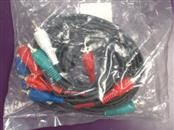 6-FT VIDEO COMPONENT CABLE.